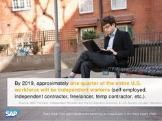 By 2019, approximately 1/4 of the entire U.S. workforce will be independent workers