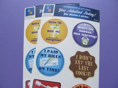 Adult Reward Stickers You Adulted Today Congratulations adult humor snarky sarcastic decals women woman sticker decal funny clever cute by StreamlineDesign on Etsy