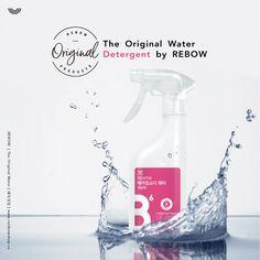 #REBOW #water #detergent #original # baking soda