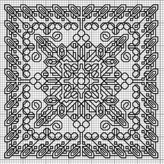 Suzi What I like: three Blackwork Embroidery Patterns