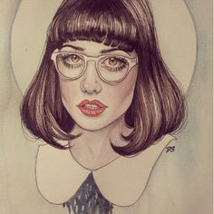 This is a drawing of me by Rose Ellen Swenson