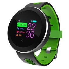 Heart Rate Monitor Smart Watch Sports Blood Pressure Pedometer Running OLED Touch Waterproof Fitness Intelligent Watch Men Women Fitness Tracker, Training Fitness, Cardio Training, Nutrition Tracker, Food Nutrition, Blood Pressure Chart, Blood Pressure Remedies, Sport Watches, Bud