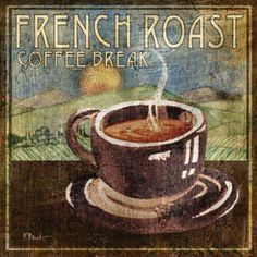 French Roast by  Paul Brent