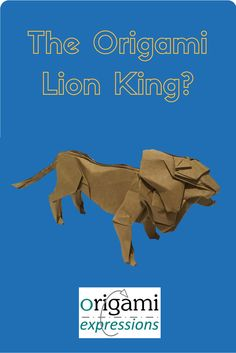 A review of Seth Friedman's origami Lion. Includes what it's like to fold, some paper suggestions and where to find the video tutorial. via @origami_express