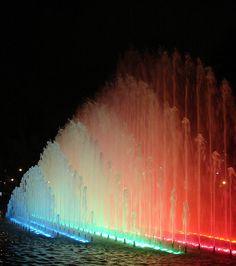 Parque de las Aguas (water park) in Lima Peru