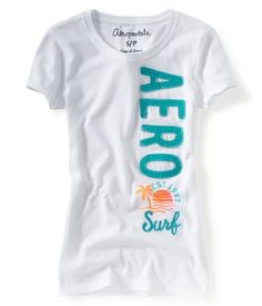 Aero Sun & Surf Patch Graphic T