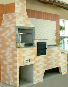 fogão de lenha pré moldado - Pesquisa Google