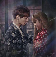 La mejor parejaa del mundo prefiero a lisa y jungkook antes que a la fea de jennie y jungkook✌✌✌✌✌✌💕💕💕💕