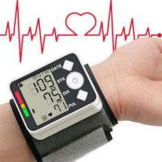 Sale Blood Pressure Meter Monitor 2017 Digital Wist Portable Automatic Sphygmomanometer For Home #Portable #Monitor