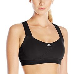 f8fd893e01423 adidas Performance Womens Supernova Bra Black Solid Medium    Check out the  image by visiting