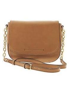 Statement Saddle Bag | Banana Republic | This is the style of purse I've been dreaming of lately....