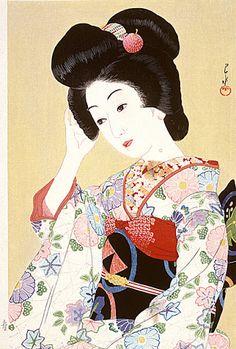 Art japonais - Goyo HASHIGUCHI