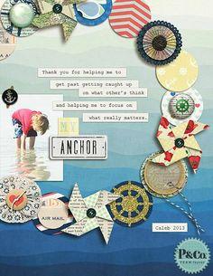 #papercraft #scrapbook #layout. Amy Kingsford