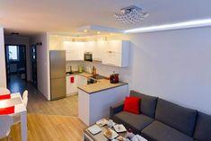 Кухня-гостиная Интерьер маленькой квартиры