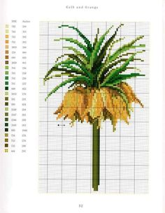 Cross Stitch Love, Cross Stitch Flowers, Counted Cross Stitch Patterns, Cross Stitch Charts, Cross Stitch Embroidery, Beautiful Flower Designs, Mosaic Flowers, Cross Stitch Collection, Sewing Art