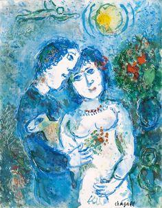 Les Amoureux sur fond Bleu, 1982