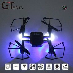 Newest GTeng T901F Mini Quadcopter 5.8G FPV Drone with Camera 2.0MP 6 Axis Gyro Headless Mode FPV Monitor VS H8MINI Fast Ship