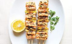 Spiced Salmon Kebabs / Hirsheimer & Hamilton