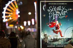 Quelle est la plante que le Père Noël tient à la main sur les affiches de Soleils d'hiver? (Photo: Thierry Bonnet/Ville d'Angers)