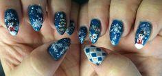 Christmas nails 2015