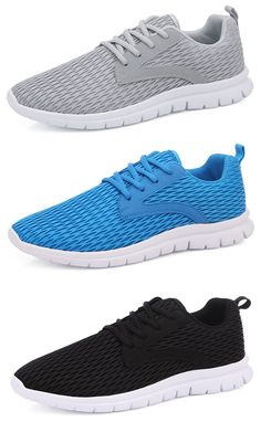 2d408594ad35 US 31.23 Men Breathable Mesh Fabric Lace Up Sport Casual Sneakers shoes   sports