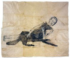 Beautiful drawings by American feminist artist Kiki Smith. Her work often depicts themes of birth, death, childhood naivety, and unconve. Kiki Smith, Art Et Illustration, Illustrations, Ap Art History 250, Pencil Drawings, Art Drawings, Roman Photo, Arte Horror, Feminist Art