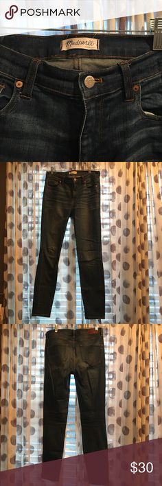 Madewell Jeans size 28 Awesome Madewell jeans! These will be your every day go to pair. Madewell Jeans Skinny