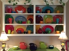 Fiestaware display