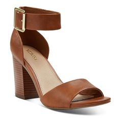 eaa9ffe5037f WOMEN S NOEMI QUARTER STRAP SANDALS - COGNAC (RED) 6.5 Pumps Heels