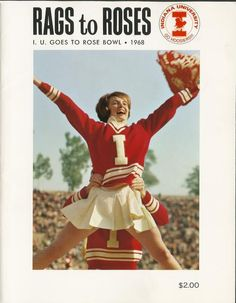 Check out the programs from the 1968 Rose Bowl, a game where IU fought tough but came up short to USC.