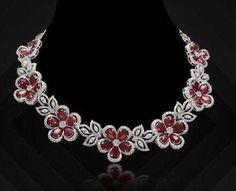 Emerald Jewelry, Diamond Jewelry, Gold Jewelry, Jewelery, Diamond Necklace Set, Diamond Brooch, Diamond Choker, Stone Necklace, Necklace Designs