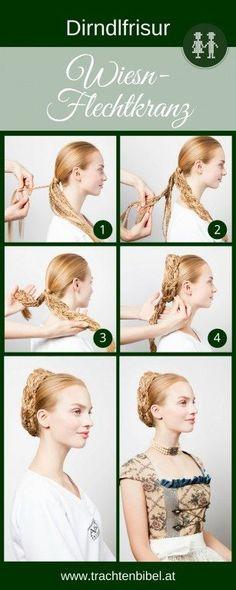 Schaut toll aus, ist aber gar nicht so schwierig! Du musst für diesen Wiesn-Flechtkranz nur Flechten können ;-) Hier gibt es die Schritt für Schritt-Anleitung.