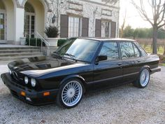 1988 BMW M5 with Alpina wheels