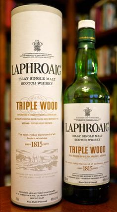 The Laphroaig Triple Wood Islay Single Malt Scotch Whisky