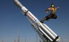 И о космосе… Как известно, состоялся успешный запуск ракеты-носителя Falcon Heavy, в ходе которого не только в открытый космос был запущен космический