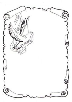 Dibujos De Pergaminos images, similar and related articles aggregated throughout the Internet. Coloring Book Pages, Coloring Sheets, Adult Coloring, Page Borders Design, Border Design, Borders For Paper, Borders And Frames, Wood Burning Patterns, Parchment Craft