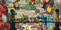 Impresión de Giclee de hombre de hierro por ComicReliefOriginals
