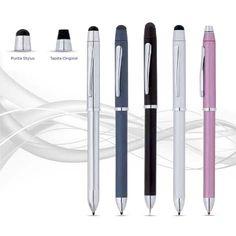 El Tech3+ es un atrevido multi-tarea. Con un simple, suave giro, cambie de Bolígrafo negro a Bolígrafo rojo a Portaminas. Ahora además con una punta stylus quita pon.