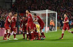Liverpool boys are in town. Liverpool Football Club, Liverpool Fc, Dejan Lovren, Salah Liverpool, Premier League Champions, Sports, Boys, Red, Hs Sports