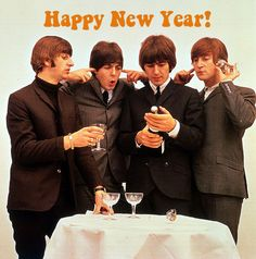 Happy New Year from The Beatles