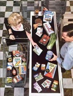 No barcodes at the grocery store.