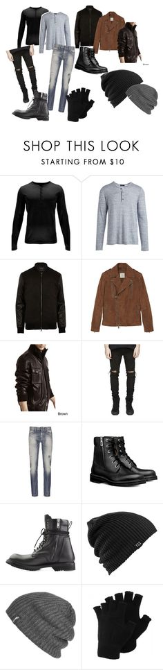 """Samuel"" by elise-daccrone1800 ❤ liked on Polyvore featuring Spyder, Vince, River Island, MANGO MAN, Tanners Avenue, Denham, Burton, Outdoor Research, men's fashion and menswear"