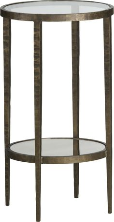 Pedestal Side Table Crate And Barrel