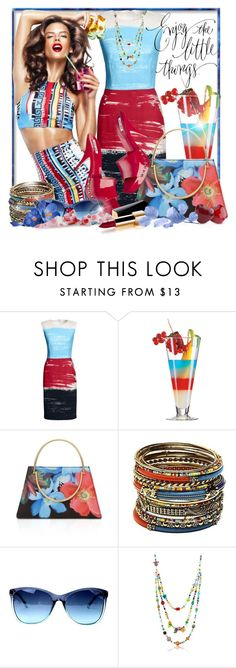 """""""Enjoy the little things"""" by doozer ❤ liked on Polyvore featuring Canvas by Lands' End, Ted Baker, Amrita Singh, Akira, Antica Murrina and Chanel"""