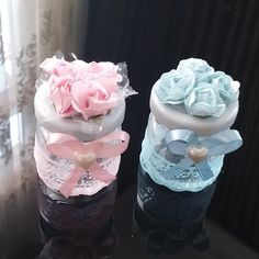 Kavanoz bebek şekeri Baby Boy Shower, Baby Shower Gifts, Baby Gifts, Jar Crafts, Diy And Crafts, Wedding Favours, Wedding Gifts, Chocolate Wrapping, Baby Frame