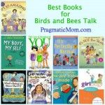 Best Books for Birds and Bees talk with your kids. Books for boys included! - from Pragmatic Mom Books For Boys, Childrens Books, Bee Book, Book Suggestions, Book Projects, Chapter Books, Book Girl, Children's Literature, Reading Material