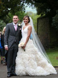 Jessica Ennis weds in Monique Lhuillier http://on.elleuk.com/162seA4