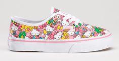 hello kitty vans - pink