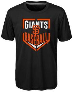 acb29329 Outerstuff San Francisco Giants Run Scored Poly T-Shirt, Big Boys (8-