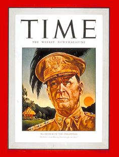 General Douglas MacArthur, 1941